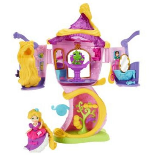 Disney Princess Little Kingdom Rapunzel's Stylin' Tower 4+ Years